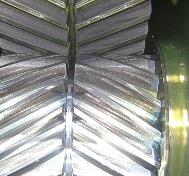 Engrenagens e Pinhões Bi-Helicoidais