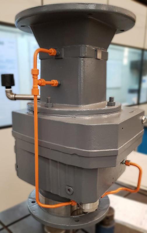 Sistema de Lubrificação em Redutores de Torre de Resfriamento